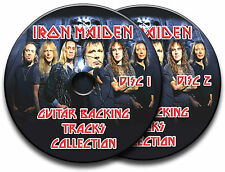IRON MAIDEN STYLE AUDIO ROCK GUITAR BACKING TRACK CDs