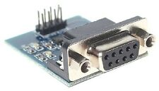 RS232 Serial Port To TTL Converter Module +Transmitting Receiving light CHIP 128