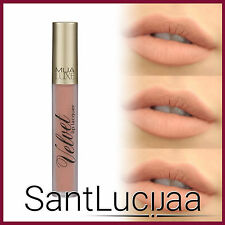 MUA LUXE VELVET LIP LACQUER SHADE HARMONY - NUDE BROWN LIGHT LIPSTICK GLOSS