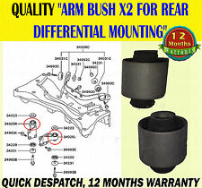 MITSUBISHI OUTLANDER REAR DIFFERENTIAL ARM BUSH / BUSHES FOR DIFF MOUNITING X2