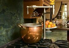 Brizo Traditional Two Handle Deck Mount Pot Filler 62710LF-PN