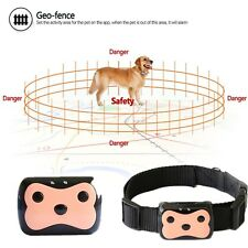 Mini Dog Cat Collar Pet ID Locator Real Time GPS Tracker GSM Tracking Waterproof