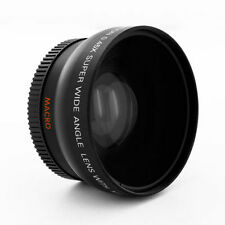 HD Wide Angle + Macro Lens for Nikon d3300 d5500 d3200 d5100 d5000 d60 w/18-55mm