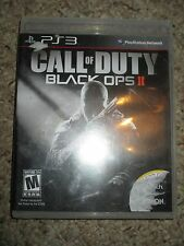 Call of Duty: Black Ops II 2 (Sony Playstation 3, 2012) PS3 Complete