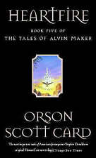 Heartfire: Tales of Alvin maker, book 5, Good Condition Book, Card, Orson Scott,