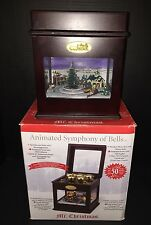 Mr. Christmas Animated Symphony of Bells w/ Moving Train Plays 50 Songs 2011 CIB