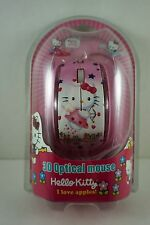 Girls Kids Women 3D USB Scroll Optical Mouse Laptop PC For Hello Kitty +Coin Bag
