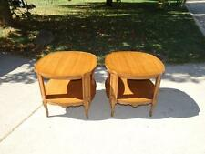 2 BODART End Table / Night Stand Original Mahogany Very Nice Set
