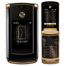 Motorola RAZR2 V8 Luxury Edition - GOLD Accessories & GSM UNLOCKED Flip phone US