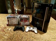 Ps3 Bundle, Console w/cooler, 19 games incl. GTA V, and more, 2 Controllers