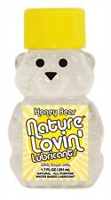 Honey Bear Water-Based Lubricant - 1.7 Oz. Nature Lovin Contains Royal Jelly