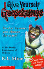 The Deadly Experiments of Dr.Eeek (Give Yourself Goosebumps), R.L. Stine