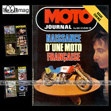 MOTO JOURNAL N°352 TRIAL JOHN REYNOLDS MZ 250 TS BUT 500 ERIC GNÔME RHONE 1978
