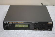 Boss PRO SE-70 Super Effects Processor made in japan Excellent Condition SE70
