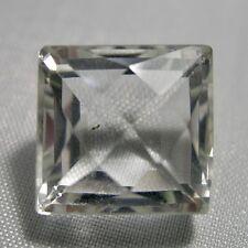 Echter Weisser Bergkristall Baguette 19.37ct 14.7x14.9mm