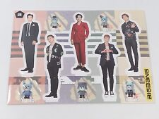 BigBang GD TOP Big Bang Standing Paper Doll Korean K Pop Star KPOP Paper Doll