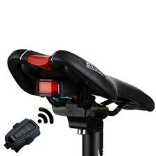3 in 1 Bicycle Rear Light Bell Wireless Remote Control Alarm Lock Fixed Position