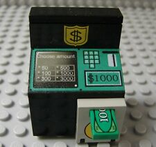LEGO Minifig Decorated Delux ATM Bank Money Machine Cash Safe