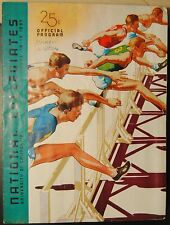 1937 NCAA 16th Annual Track and Field Championships Program Berkeley