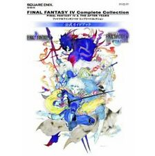 Final Fantasy IV complete collection official guide book / PSP