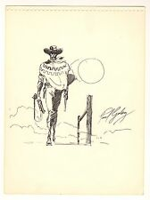 Clint Eastwood Outlaw Josey Wales Commission - 1978 Signed art by Paul Gulacy
