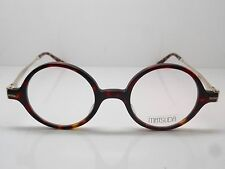 New Authentic MATSUDA M2019 MBR Matte Tortoise/Gold 41mm Eyeglasses w/ Case