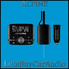 ALPINE EZI DAB GO DIGITAL RADIO (DAB/DAB+) INTERFACE WITH BLUETOOTH STREAMING