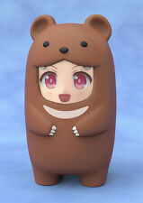 Nendoroid More Face Parts Case Brown Bear Figure Accessory