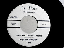 OHIO UNTOUCHABLES~SHE'S MY HEARTS DESIRE~NEAR MINT~LU PINE 109~WHAT TO ~ SOUL 45