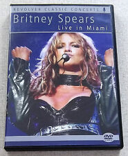 BRITNEY SPEARS Live In Miami DVD Region Free SOUTH AFRICA Ca# REVDVD575