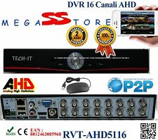 DVR IBRIDO AHD 16 CANALI PROFESSIONALE P2P TOP QUALITY