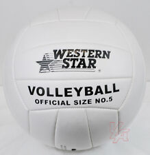 Volleyball Ball Official Olympic Indoor Outdoor Size 5 White NEW