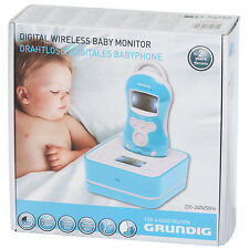 GRUNDIG 2 WAY DIGITAL WIRELESS BABY MONITOR VIDEO AND AUDIO SECURITY BABYPHONE