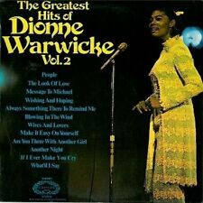 DIONNE WARWICK The Greatest Hits Of Dionne Warwicke Vol.2 LP Hallmark 1970 EX