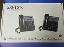 NEW GRANDSTREAM GXP1610 VoIP 1 Line HD IP Phone w/ LCD Display for SMB or home