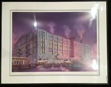 Chicago Stadium By Daniel John Campbell Signed And Numbered, 1994, Certified