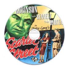 Scarlet Street (1945) Fritz Lang Drama, Film Noir Movie on DVD
