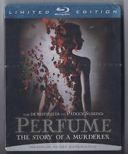 PERFUME the Story of a Murderer : Dutch Blu Ray Metalcase / Steelbook (sealed)