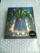 The Incredible Hulk Blu-ray SteelBook Novamedia Lenticular Edition *New Sealed*