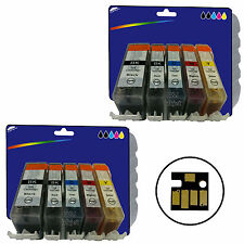 Any 10 Inks for Canon iP4950 iX6250 MG5200 MG6150 MG6250 MX885 non-OEM 525/6
