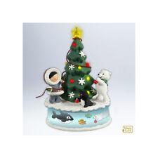 "New 2012 Hallmark ""Trimming The Tree"" Ornament - Frosty Friends - Christmas NIB"