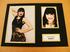 JESSIE J GENUINE HAND SIGNED AUTOGRAPH 16x12 PHOTO MOUNT PRICE TAG MUSIC & COA