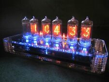 PV Electronics QTC Nixie clock Z5700 tubes +Plexi Case +PSU Fully Built (4 of 6)