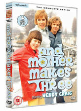 AND MOTHER MAKES THREE 3  Wendy Craig. New sealed DVD.