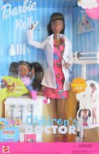 Barbie and Kelly African Childrens Doctor Pediatrician I can be... Career Series