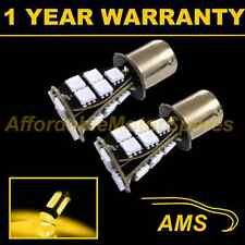 2X 382 1156 BA15s 207 P21W AMBER 21 SMD LED REAR INDICATOR LIGHT BULBS RI201701
