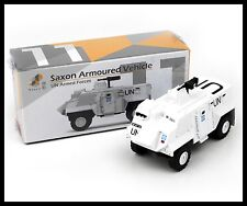 TINY HONG KONG CITY 11 SAXON Armoured Vehicle UN Armed Forces POLICE CAR DIECAST