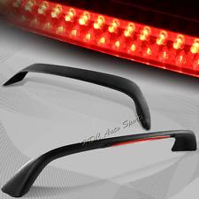 For 2006-2010 Honda Civic 2DR Glossy Black Trunk Spoiler Wing W/LED Brake Light