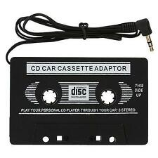 Cinta para tablero de automóvil Audio Cassette Reproductor de MP3 Adaptador 3.5mm aux macho Cable para iPod