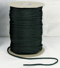 600' Paracord - Black, Olive Drab, And Woodland Camo - 550 Lb Tested